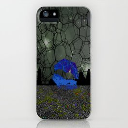 Space skyline iPhone Case