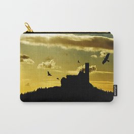 Castle in a golden sky Carry-All Pouch
