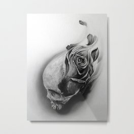 Transitory Metal Print