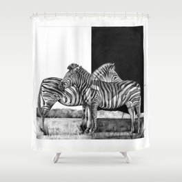 Concinnity Shower Curtain