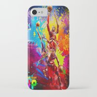 nba iPhone & iPod Cases featuring NBA by Don Kuing