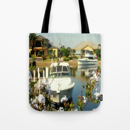 Backyard Bliss - Paynesville - Australia Tote Bag