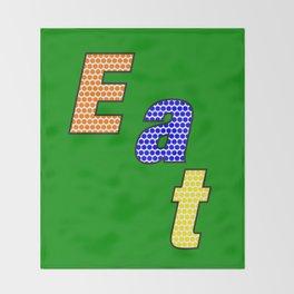 Eat – my 3 best Skills Throw Blanket