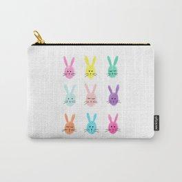 Rainbow Bunnies Carry-All Pouch