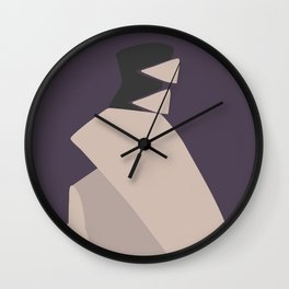 Fashion Designer Icons: Viktor & Rolf Smooth Wall Clock