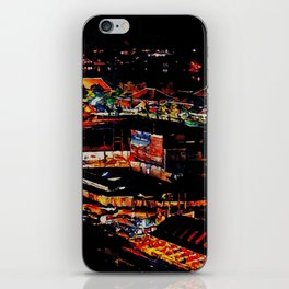 Udon Night Lights iPhone Skin