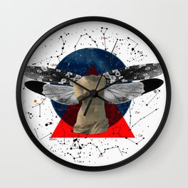 Wonder Wood Dream Mountains - The Demon Cleaner Series · The Lost Ghost Wall Clock