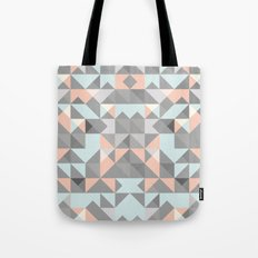 Triangular Pattern Tote Bag