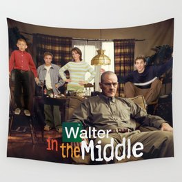 Walter In The Middle Wall Tapestry
