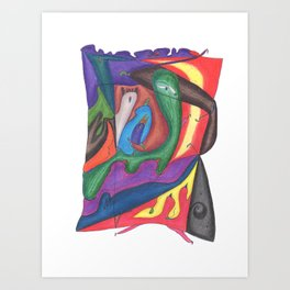 Drawing #69 Art Print