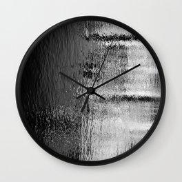 Blurred Water Wall Clock