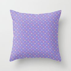 Lilac and Pastels SW Pattern Throw Pillow