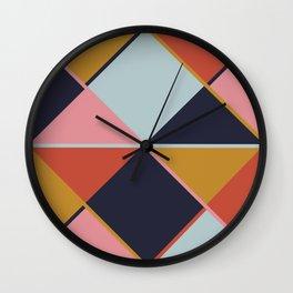 Spring Colors 2018 Wall Clock