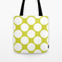 Polka Dots Green Tote Bag