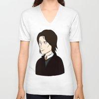 marauders V-neck T-shirts featuring Sirius Black Marauders Era by Carryon_Waywardsun