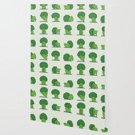 Broccoli Yoga Wallpaper