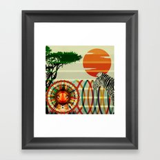 One of us... Framed Art Print