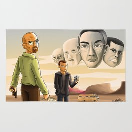 Breaking Bad: Walter's Adversaries  Rug