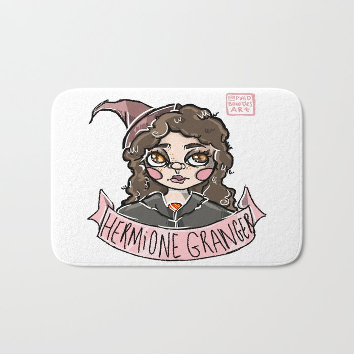 """The Brightest Witch of Her Age."" Bath Mat"
