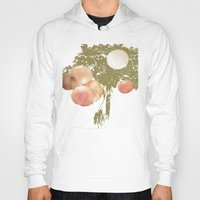 lanterns Hoodies featuring Lanterns Rosy by Heidi Fairwood