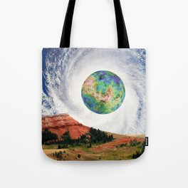 Rouge Planet Tote Bag