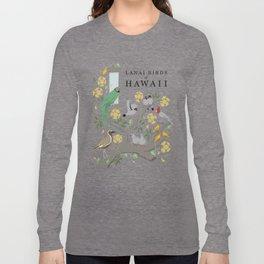 Lanai Birds of Hawaii Long Sleeve T-shirt