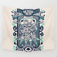 muppet Wall Tapestries featuring Reunion Tour by jublin
