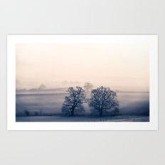 Where the trees have no name Art Print