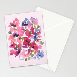 Monet's Rose Garden Stationery Cards