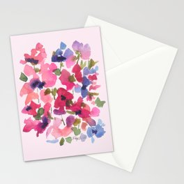 Monet's Rose Garden Stationery Cards