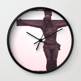 JESUS ​​AND MARY IMAGE BOGOTA MONSERRATE Wall Clock
