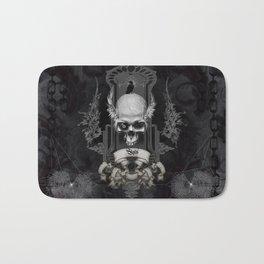 Amazing skull Bath Mat