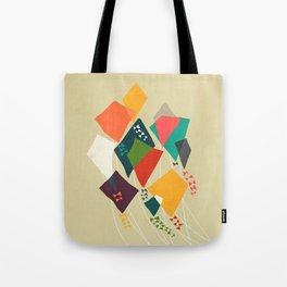 Whimsical kites Tote Bag
