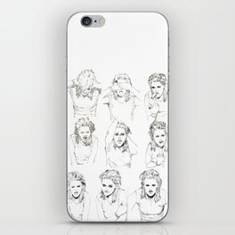 Kristen Stewart Sketches iPhone Skin
