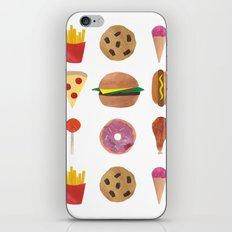 Junk Food iPhone & iPod Skin