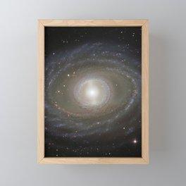 1645. Ribbons and Pearls of Spiral Galaxy NGC 1398  Framed Mini Art Print
