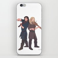 kili iPhone & iPod Skins featuring fili&kili - music by Ronnie
