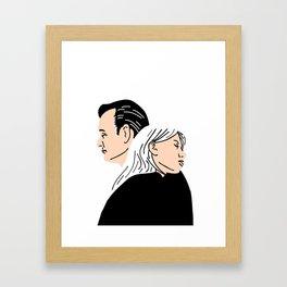 Strange Love: Lost in Translation Framed Art Print