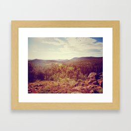 The Bigger Picture Framed Art Print