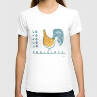 swedish T-shirts featuring Swedish Hen by Chet and Dot
