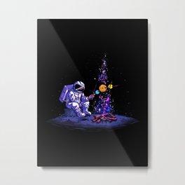 Moon Camping Metal Print