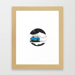 106/365 - The Night Will Be Ours Framed Art Print
