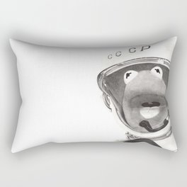 Wilt thou not revive us again: that thy people may rejoice in thee? Rectangular Pillow