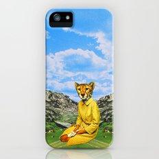 Cat Madam Slim Case iPhone (5, 5s)