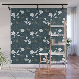 Magnolia flowers Wall Mural