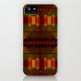 """""""Full Colors Tribal Pattern"""" iPhone Case"""