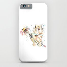 Gopher Colorful Watercolor Painting iPhone Case