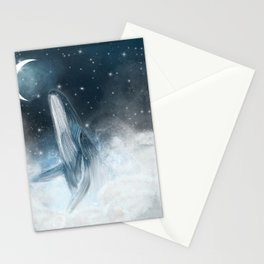 surfing the stars Stationery Cards