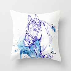 Blue Rodeo Throw Pillow