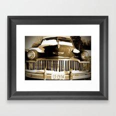 Ye old De Soto Framed Art Print